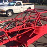 Bright Red Chassis