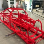 Bright Red Chassis 2